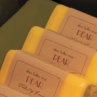Pear scented French Soap